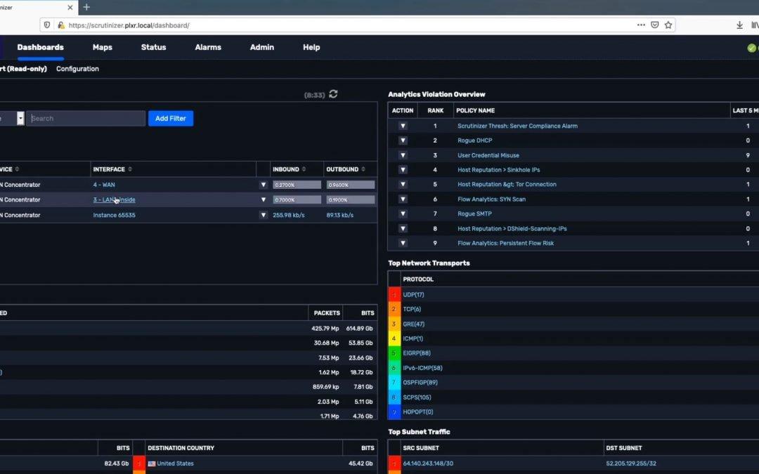 Plixer offre 90 giorni gratuiti di monitoraggio, ottimizzazione e security della rete