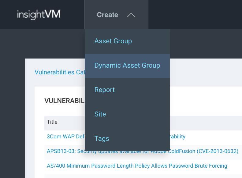 vulnerabilità Default Account InsightVM