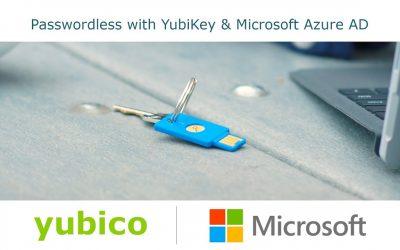 Guida all'accesso passwordless di YubiKeys per Microsoft Azure AD